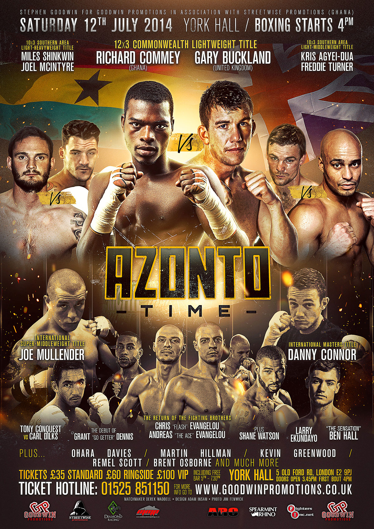 azonto boxing poster design