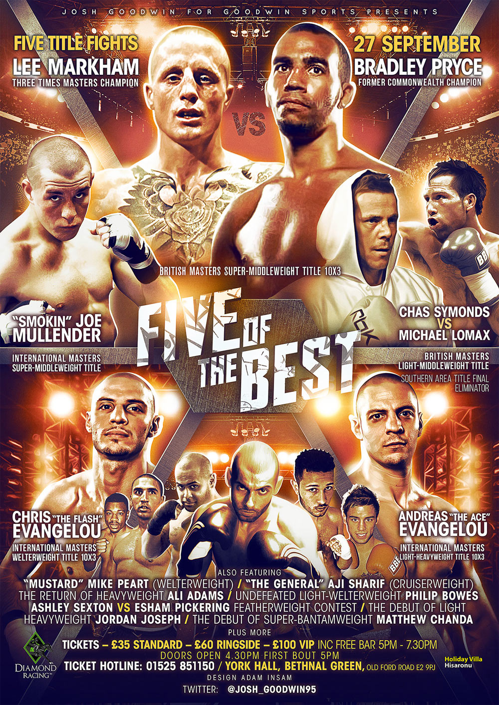 five of the best boxing show