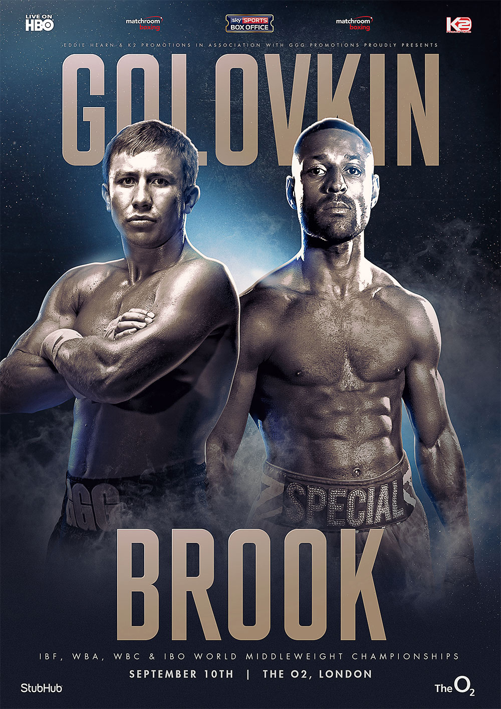 poster for ggg vs kell brook
