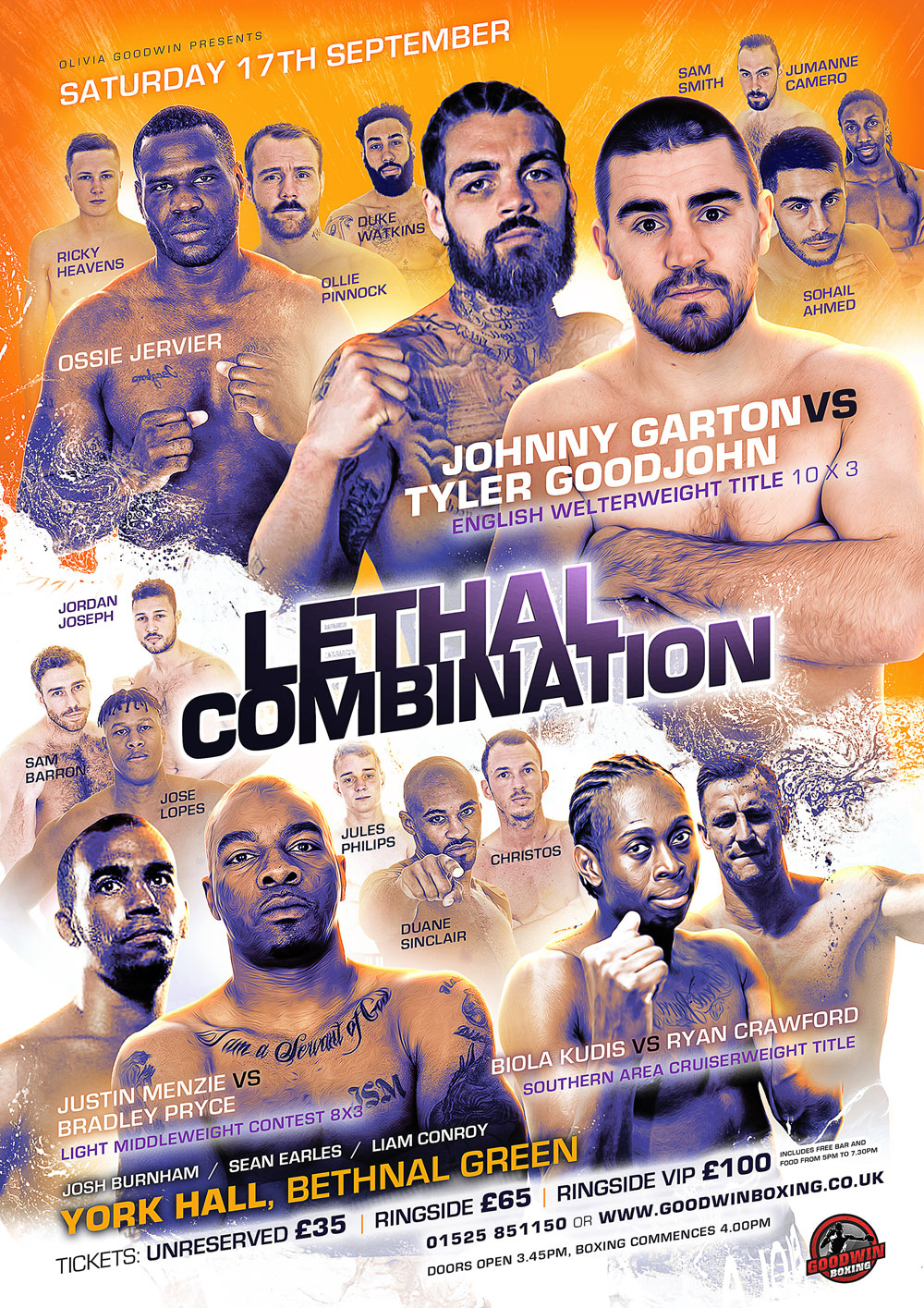 poster for lethal combo