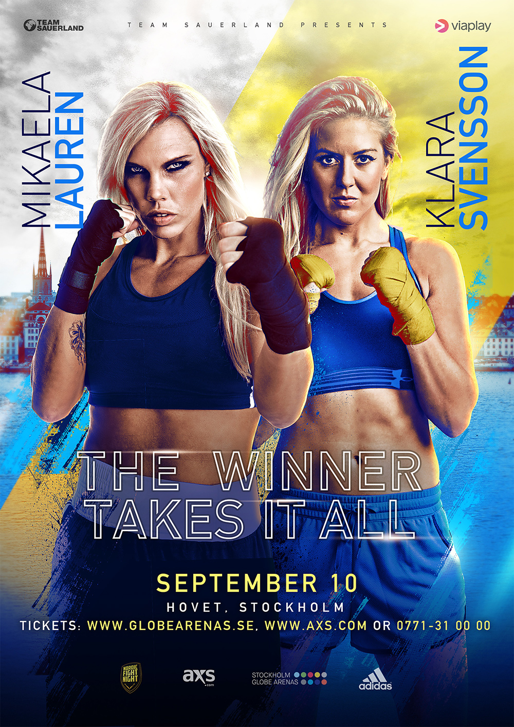 swedish fight poster for winner takes it all
