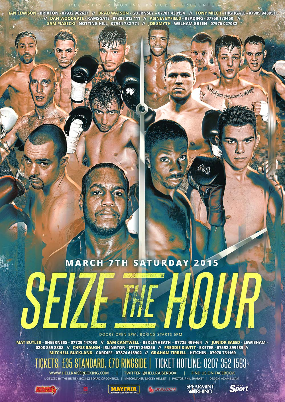 seize the hour at the camden centre